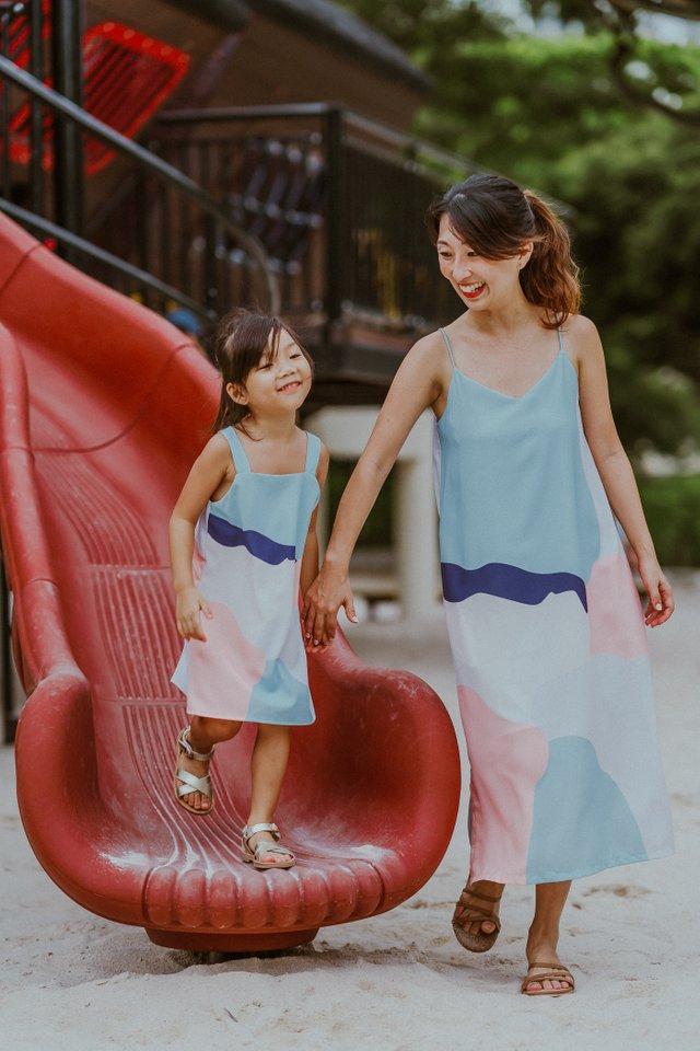 LITTLE SAVANA DRESS (BLUE)