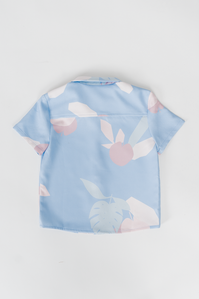 APPLE OF MY EYE TEE (BLUE)