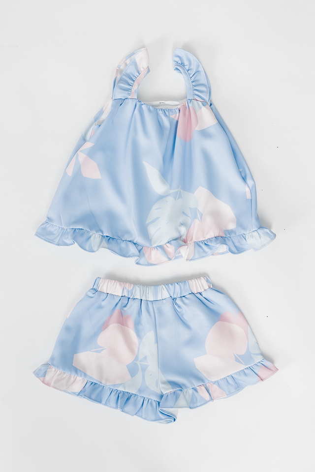 APPLE OF MY EYE 2 PIECE SET (BLUE)