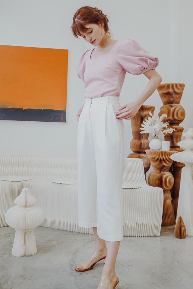 SOFINA TAILORED PANTS (WHITE)